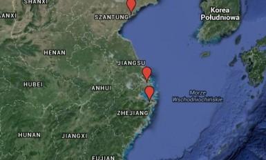 Największe porty morskie w Chinach